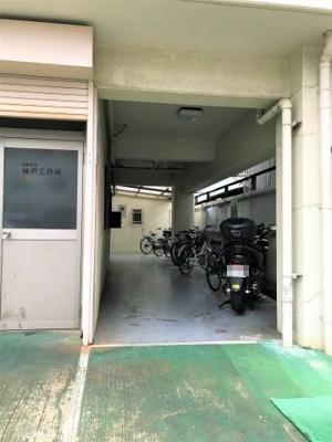【駐輪場】神装コーポ