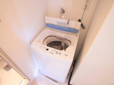 洗濯機があります。