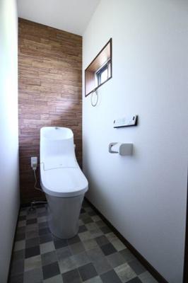【トイレ】朝霧南町3丁目賃貸戸建て