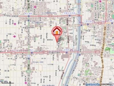 【地図】ヴィル・ヌーブMASUDA