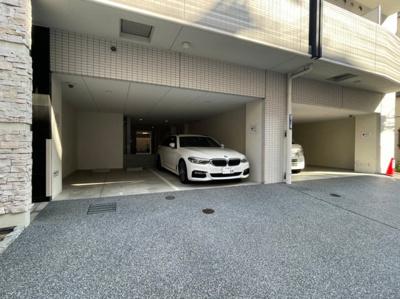 【駐車場】レジュールアッシュ難波MINAMIⅡ