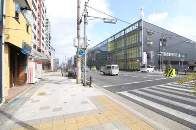 【周辺】琵琶町1丁目1棟店舗