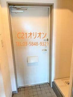 【玄関】プレール桜台