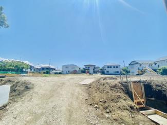【前面道路含む現地写真】【発売開始】菱沼海岸 開発分譲全14区画