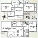横浜市港南区野庭町 新築戸建て4LDK+車庫2台 BBQスペース有! 桜が楽しめるお家の画像