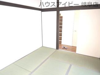趣のある和室です♪岐阜市長良子正賀 リフォーム済み戸建て♪