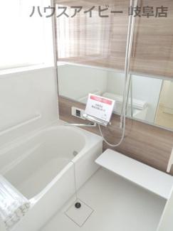 ♪岐阜市長良子正賀 リフォーム済み戸建て♪きれいなお風呂です
