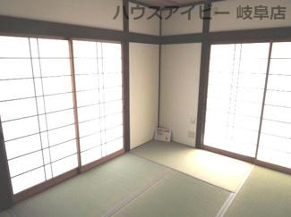 洋室です♪岐阜市長良子正賀 リフォーム済み戸建て♪