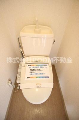 【トイレ】フローラハイツ