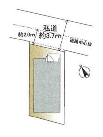 【区画図】新築戸建 (川崎区昭和2丁目)