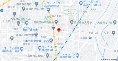 【地図】日向町貸家 (株)Roots