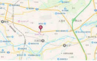 【地図】飯能市岩沢 売地