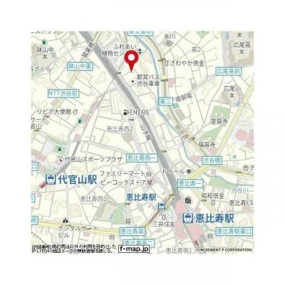【地図】菱和パレス代官山