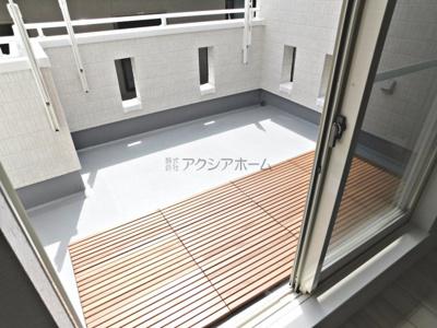 【バルコニー】狭山市水野 新築一戸建 ~2階LDK16.9帖~