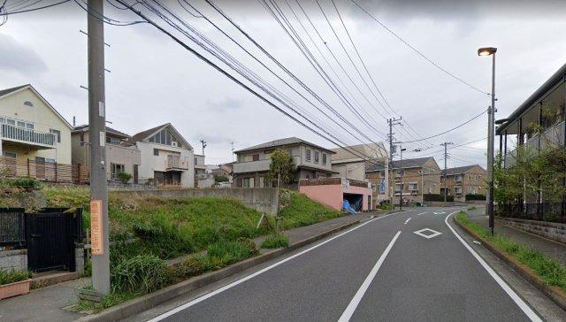 【前面道路含む現地写真】売地 藤沢市並木台2丁目 C区画
