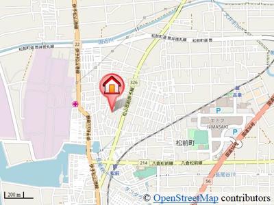 【地図】グランドソレーユTOYOTA B棟