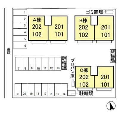 【区画図】タウンスクエアB