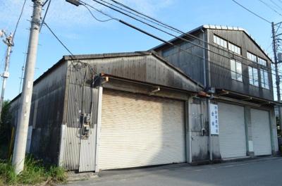【外観】依田橋売倉庫