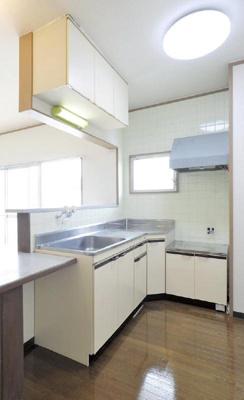 L字型対面キッチン