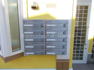 プラムメロディの郵便ボックス