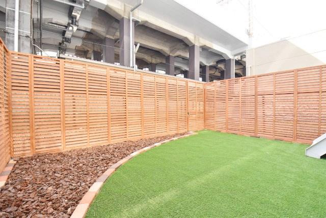 物件のお問い合わせは、 0120-700-968までお気軽にどうぞ! 専用庭と眺望