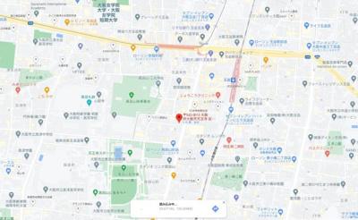 【地図】ルネフラッツ玉造本町