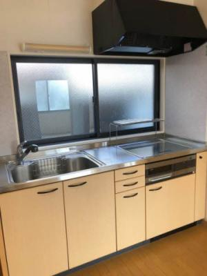 【キッチン】鳥取市国府町分上2丁目中古戸建