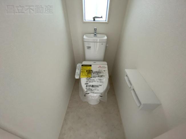 ウォシュレットタイプのトイレです。
