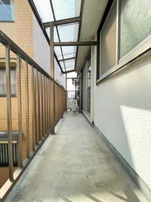 【バルコニー】福田住宅