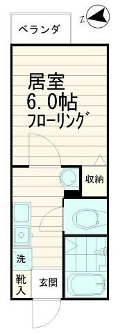 独立洗面台完備【ソミュール百Ⅰ】
