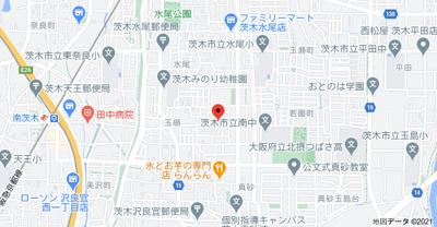 【地図】ハイツべインテⅡ