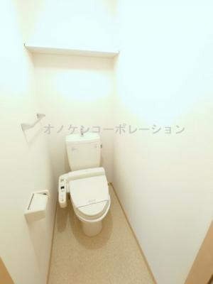 【トイレ】サニーハイツ ミキ B棟