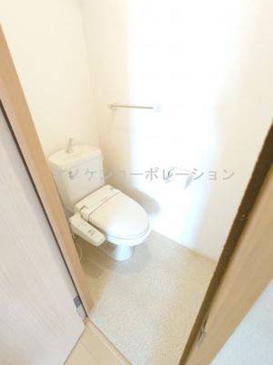 【トイレ】サニーレジデンスエビスA棟