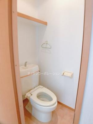【トイレ】フォレストヴィラ