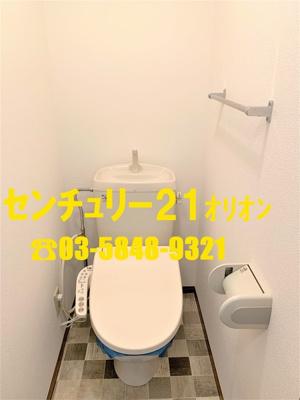【トイレ】ウィズ中村橋 2号棟