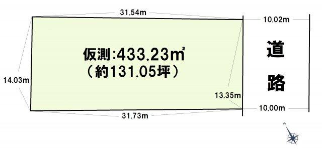 【土地図】東区香住ヶ丘6丁目土地