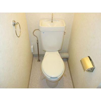 トイレあり。