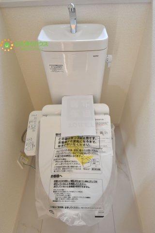 トイレは1F、2F共に完備!
