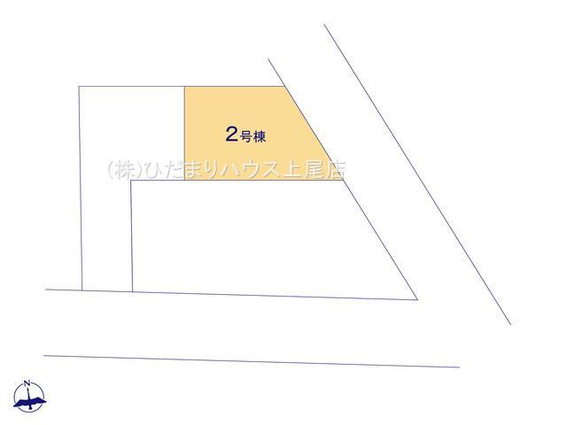 【区画図】北区吉野町 5期 新築一戸建て グラファーレ 02
