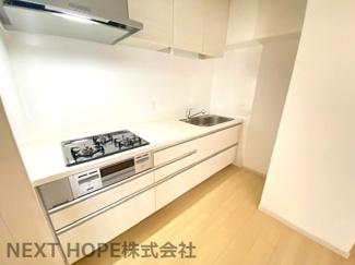 独立キッチンです♪急にお客様が来られても慌てなくても大丈夫ですね(^^)