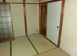 1階4.5帖和室です♪お好きなリフォームを楽しんでみませんか?お気軽にお問い合わせを!!
