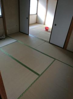 2階和室6帖が2室です♪ 襖を外して12帖の大空間にすることも出来ますね(^^)
