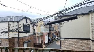 バルコニーからの眺望です♪周辺は住宅街です!