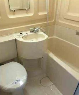トイレ・お風呂・洗面が一緒になっております!※現在賃貸中です!
