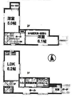 Aプラン:建物価格1,480万円 64.25㎡