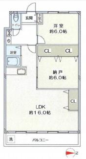 単身様からお二人様におすすめの間取りです♪広々LDKは16帖の大空間で、お家時間をゆったりと過ごせますね(^^)