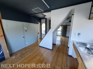 1階LDKは14.5帖です♪ご家族の癒しの空間ですね(^^)いつでもご案内させて頂きます♪お気軽にネクストホープ不動産販売までお問い合わせを!!