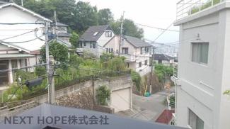 2階バルコニーからの眺望です♪静かな住宅街です!!