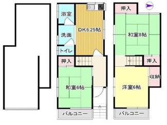 お二人様からファミリー様まで幅広くおすすめの間取りです♪1階は駐車場として・倉庫として・軽作業のスペースとしても使用できますね(^^)