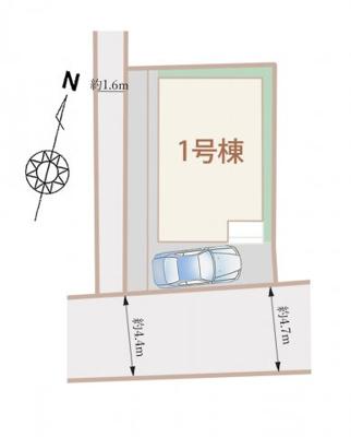 【区画図】神戸市東灘区深江南町4丁目
